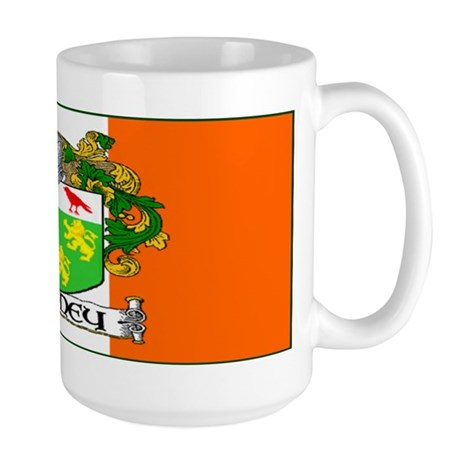 Rooney Arms Flag Large Mug