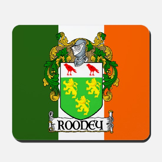 Rooney Arms Flag Mousepad
