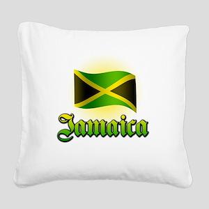 jamaica Square Canvas Pillow
