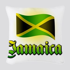 jamaica Woven Throw Pillow