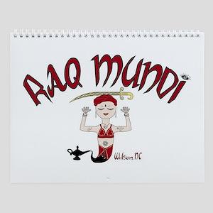 Raq Mundi Wall Calendar