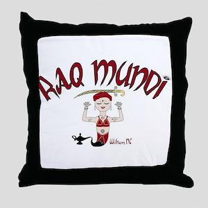 Raq Mundi Throw Pillow