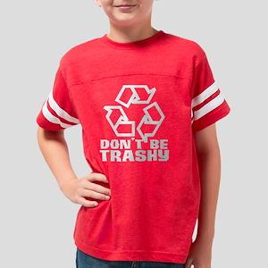 trashywhite Youth Football Shirt