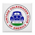 Vvwca Logo Tile Coaster
