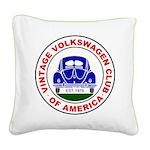 Vvwca Logo Square Canvas Pillow