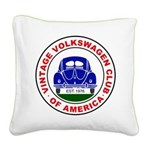 Vvwca Logo Square Canvas Pillow