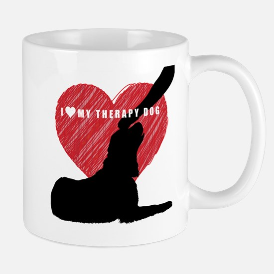 I love my therapy dog Mug