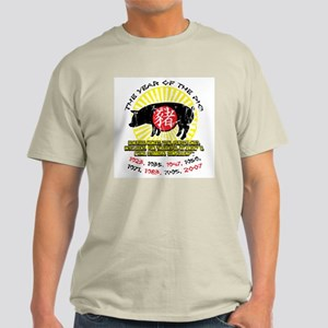 Year of the Pig Qualities Light T-Shirt