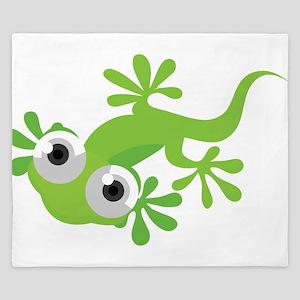 Cartoon Gecko King Duvet