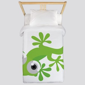 Cartoon Gecko Twin Duvet