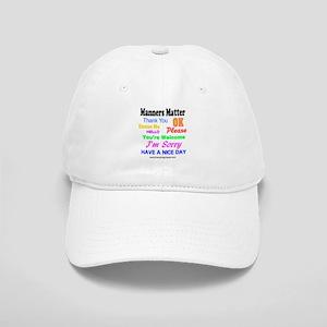 Manners Matter Cap