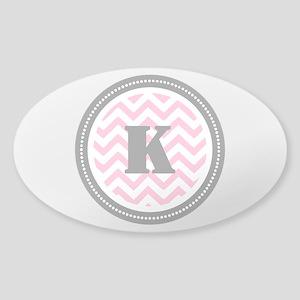 Pink Sticker (Oval)