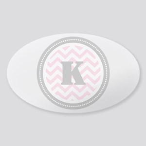 Pink Sticker (Oval)