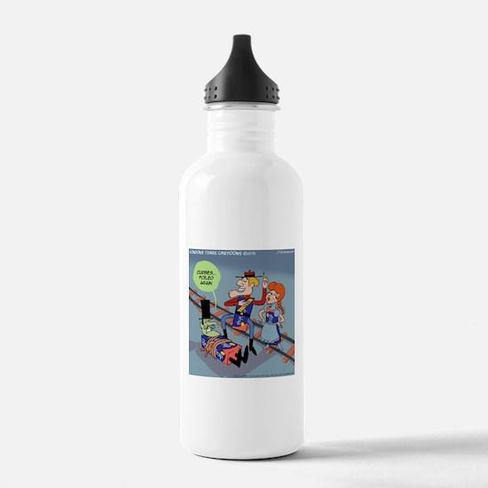 Curses Foiled Again Water Bottle