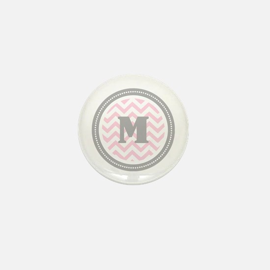 Pink Mini Button
