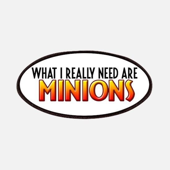 I Need Minions Patches
