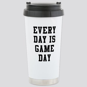 Every Day Is Game 16 oz Stainless Steel Travel Mug
