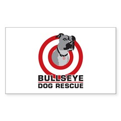 BullsEye Sticker (Rectangle)