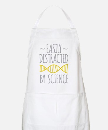 Distracted by Science Light Apron