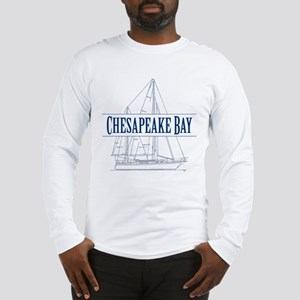 Chesapeake Bay - Long Sleeve T-Shirt