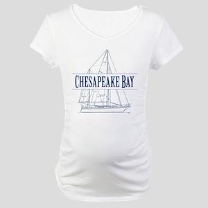 Chesapeake Bay - Maternity T-Shirt