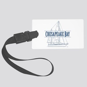Chesapeake Bay - Large Luggage Tag