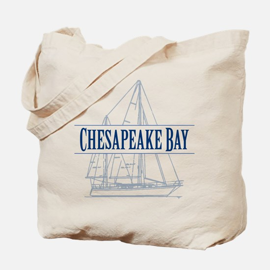 Chesapeake Bay - Tote Bag