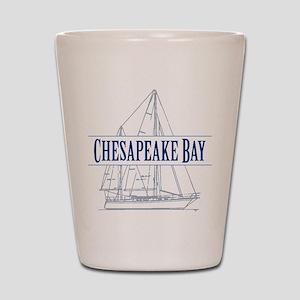 Chesapeake Bay - Shot Glass