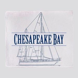 Chesapeake Bay - Throw Blanket