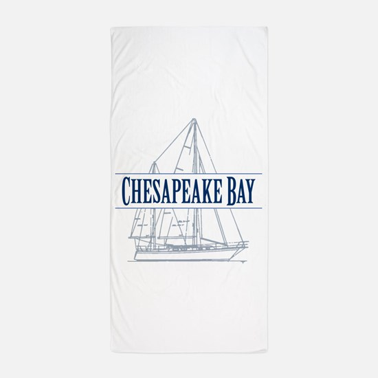 Chesapeake Bay - Beach Towel