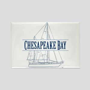 Chesapeake Bay - Rectangle Magnet