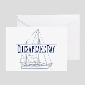 Chesapeake Bay - Greeting Card