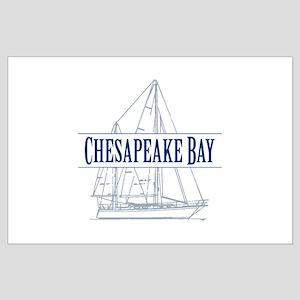Chesapeake Bay - Large Poster