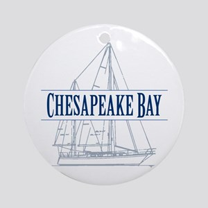 Chesapeake Bay - Ornament (Round)