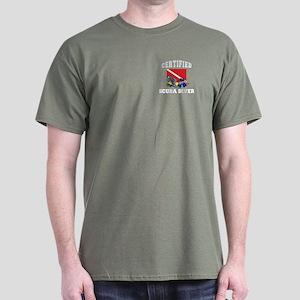 Certified SCUBA Diver Dark T-Shirt