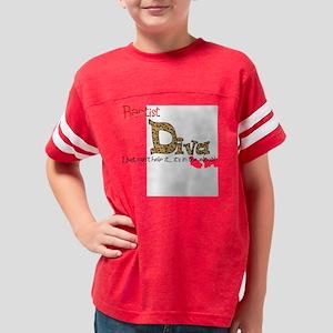 Baptist diva Youth Football Shirt