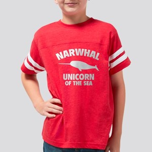 narwhalUni1B Youth Football Shirt