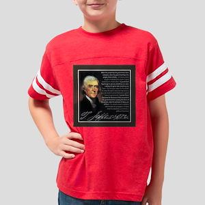 TJ Quotations Youth Football Shirt