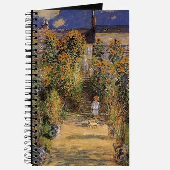 Artist's Garden at Vetheuil by Claude Mone Journal