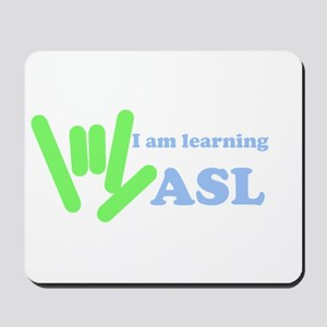 asl_hand_learning Mousepad