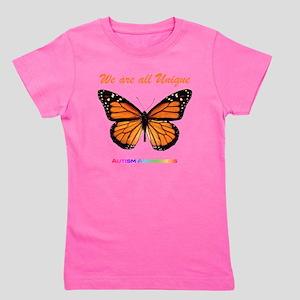 monarch_autism Girl's Tee