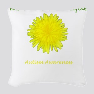 dandelion_bumper2 Woven Throw Pillow