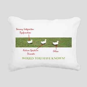 ducks_guess Rectangular Canvas Pillow