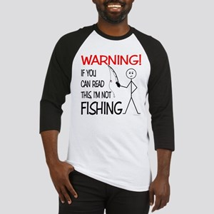 Fishing Warning Baseball Jersey