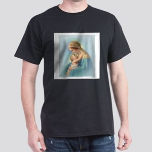 Mary and Jesus Dark T-Shirt