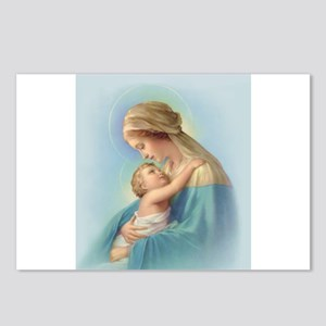 Mary and Jesus Postcards (Package of 8)