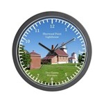 Sherwood Point Lighthouse Wall Clock