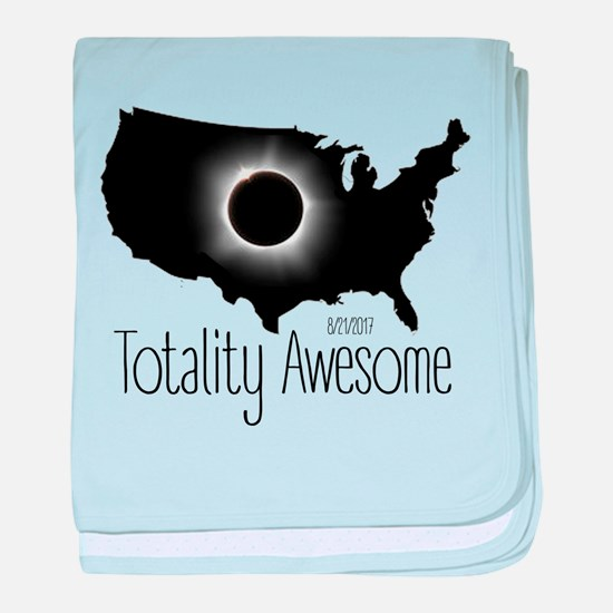 Totality Awesome baby blanket