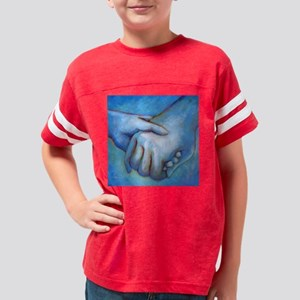 You and Me Youth Football Shirt