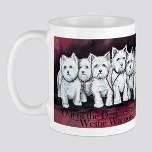 Westie Warriors Mug